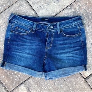a.n.a. Denim blue jean short cuffed